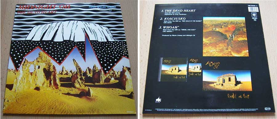 Midnight Oil - Vinyl Maxi Single
