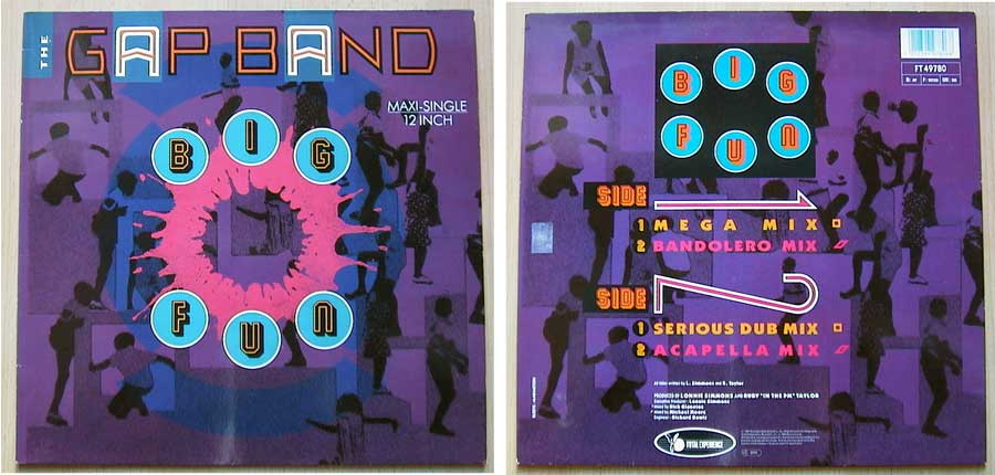 The Gap Band ‎– Big Fun auf Vinyl, Maxi-Single