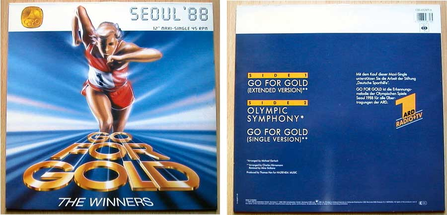 The Winners - Go For Gold auf Vinyl, Maxi-Single