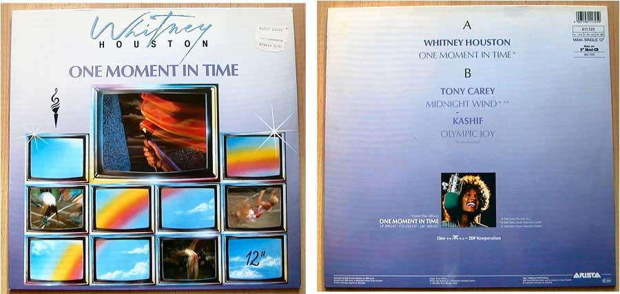 Whitney Houston – One Moment In Time auf Vinyl, Maxi-Single