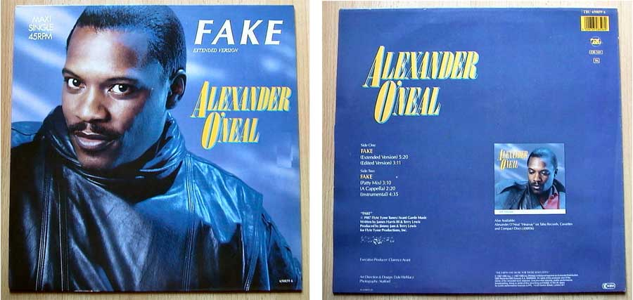 Alexander O Neal - Fake auf Maxi-Single