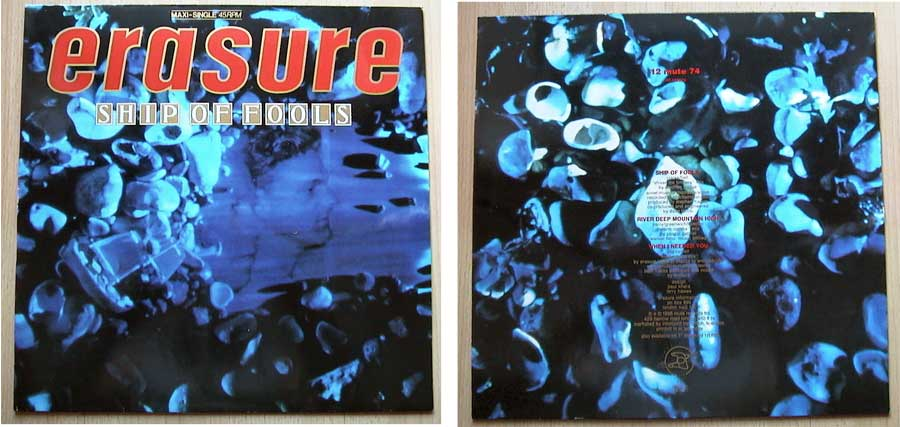 Erasure ‎– Ship Of Fools auf Maxi-Single