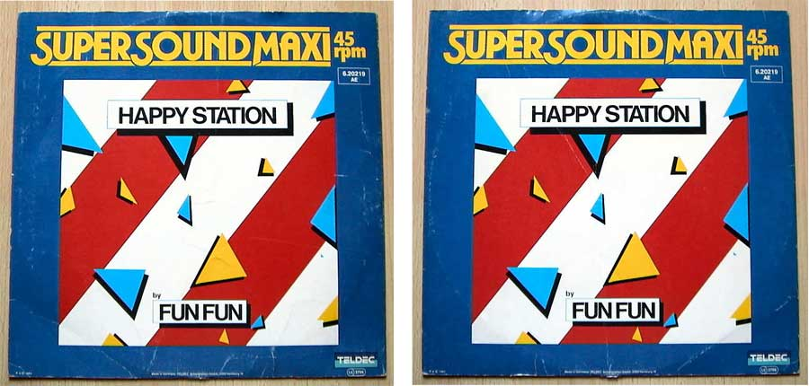 Fun Fun ‎– Happy Station auf Maxi-Single