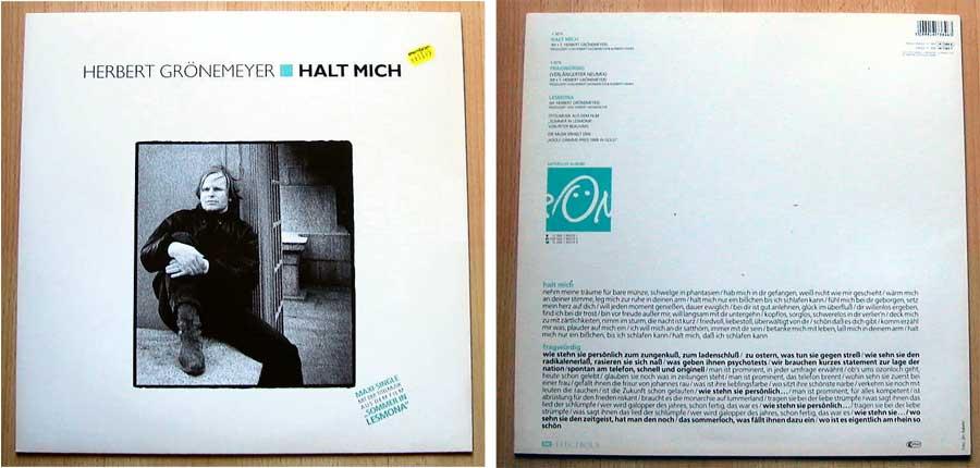 Herbert Grönemeyer - Halt Mich auf Maxi-Single