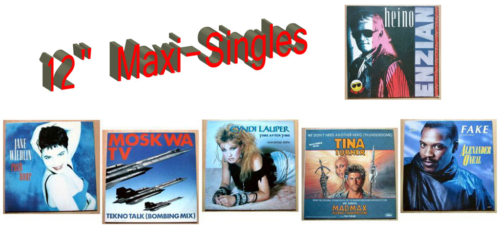 Maxi-Singles Kleinkunst Vinyl-Boom