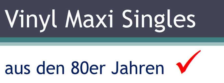 Vinyl Maxi Singles Banner