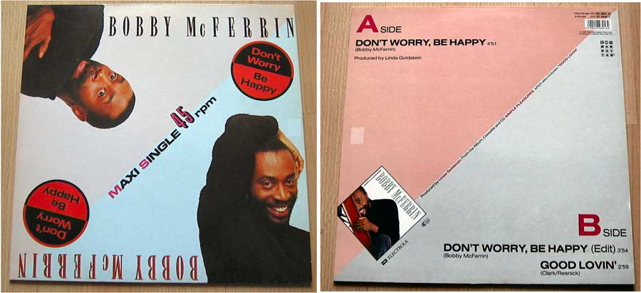 Bobby Mc Ferrin - Don't Worry, Be Happy von 1988