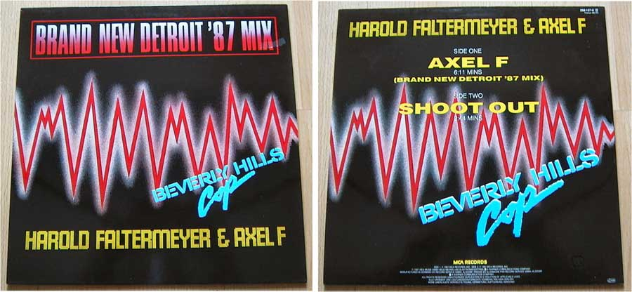Harold Faltermeyer - Axel F. - Maxi Single von 1987