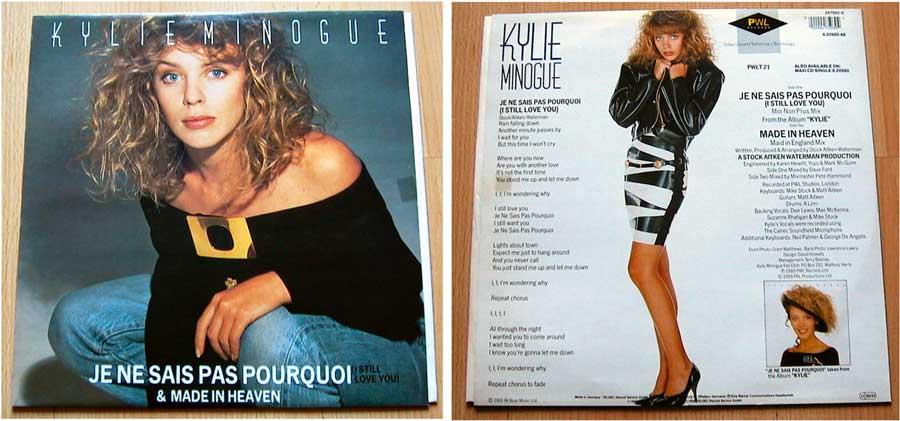 Kylie Minogue - Je Ne Sais Pas Pourquoi von 1988