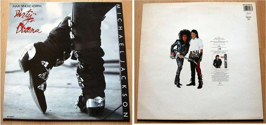 Michael Jackson - Dirty Diana - Maxi Single 1987