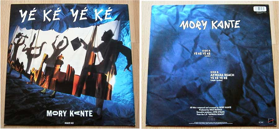 Mory Kante - Ye Ke Ye Ke - Maxi Single von 1987
