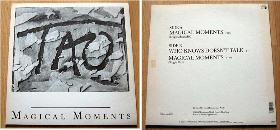 Tao - Magical Moments - Maxi Single von 1988