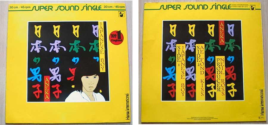 Aneka – Japanese Boy auf Vinyl, Maxi-Single