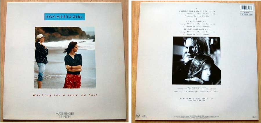 Boy Meets Girl ‎– Waiting For A Star To Fall auf Vinyl, Maxi-Single