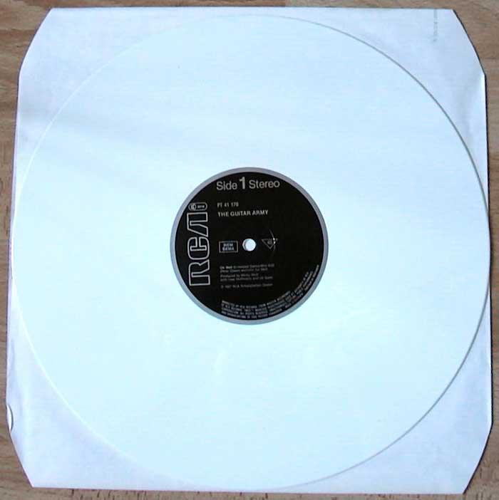 Erstauflage auf weissem Vinyl