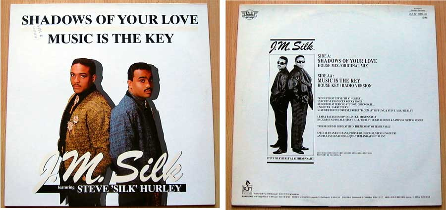 J.M. Silk – Shadows Of Your Love auf Vinyl, Maxi-Single