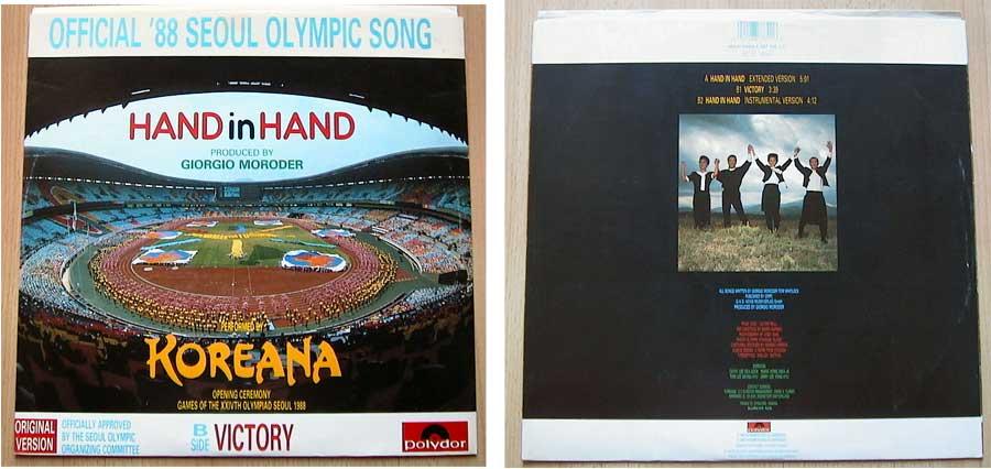 Koreana - Hand In Hand auf Vinyl, Maxi-Single