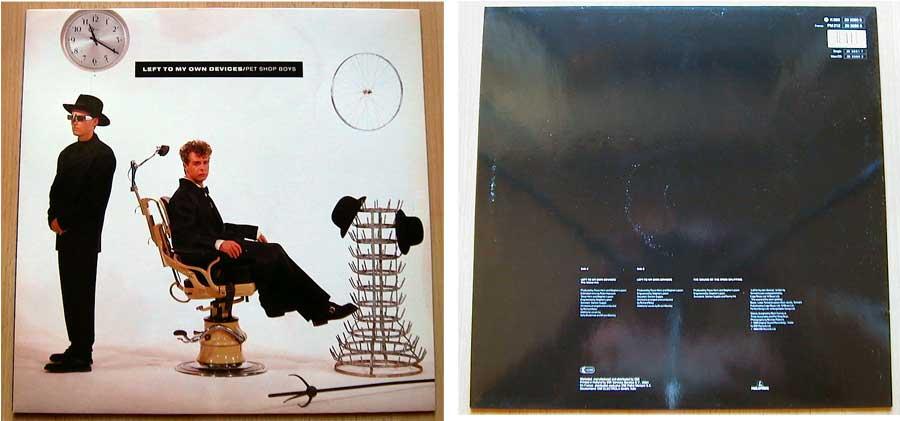Pet Shop Boys – Left To My Own Devices auf Vinyl, Maxi-Single
