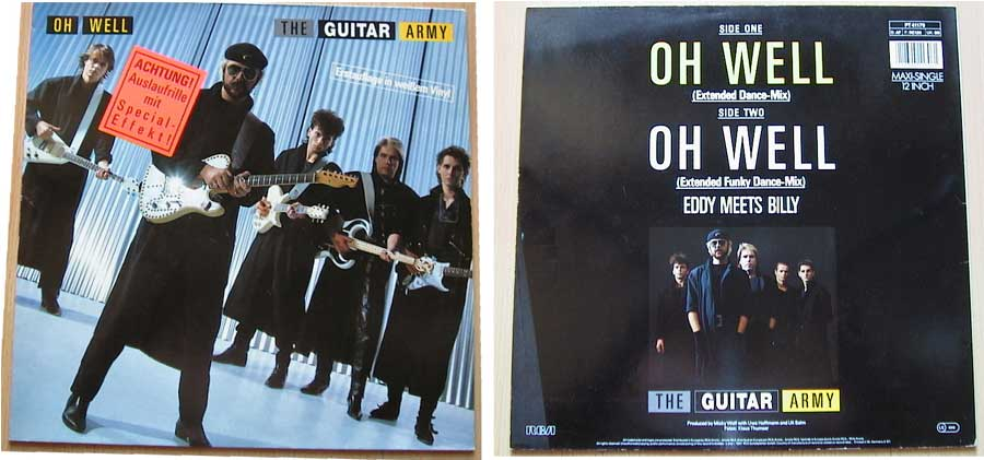 The Guitar Army - Oh Well auf Vinyl, Maxi-Single
