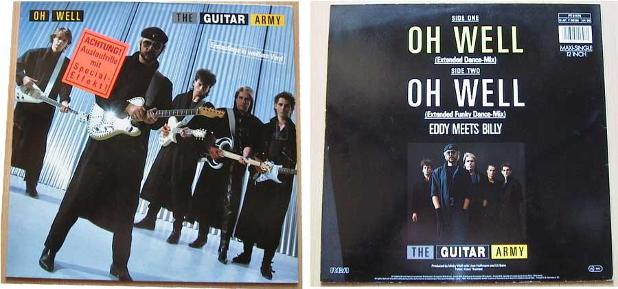 The Guitar Army - Oh Well auf Vinyl, Pop-Ikonen