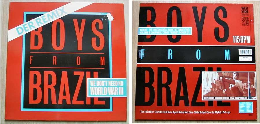 Boys From Brazil - Maxi-Single von 1987