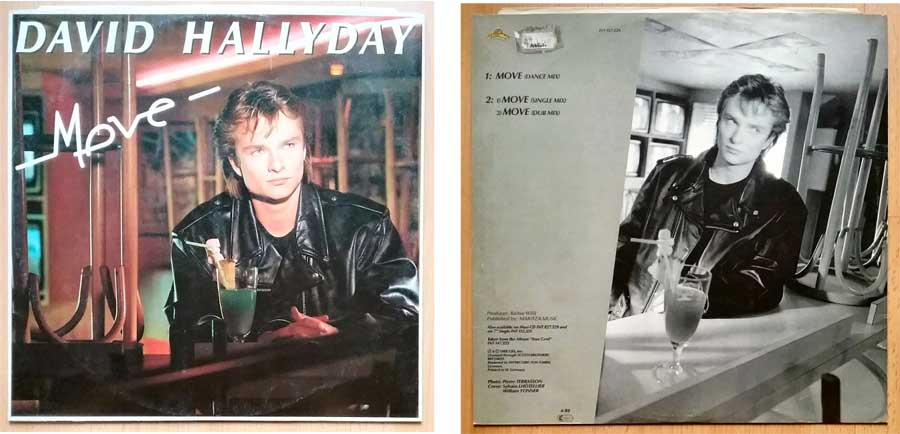Maxi-Single von David Hallyday