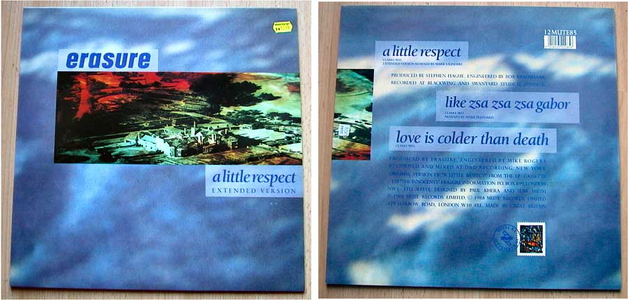 Erasure - A Little Respect - Maxi-Single von 1988