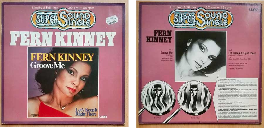 Maxi-Single von Fern Kinney