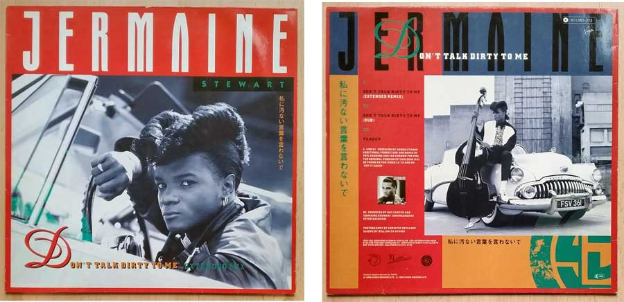Maxi-Single von Jermaine Stewart