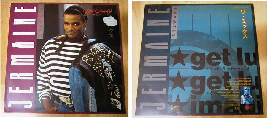Jermaine Stewart - Get Lucky - Maxi-Single 1988
