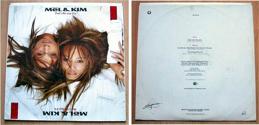 Mel & Kim - Maxi-Single von 1988
