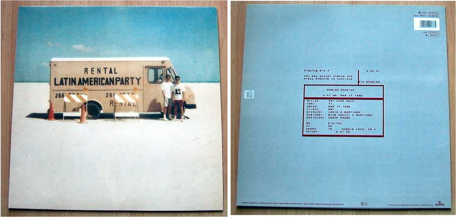 Pet Shop Boys - Maxi-Single von 1988