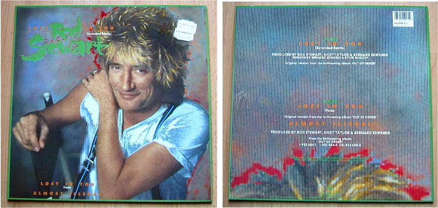 Rod Stewart - Maxi-Single von 1988