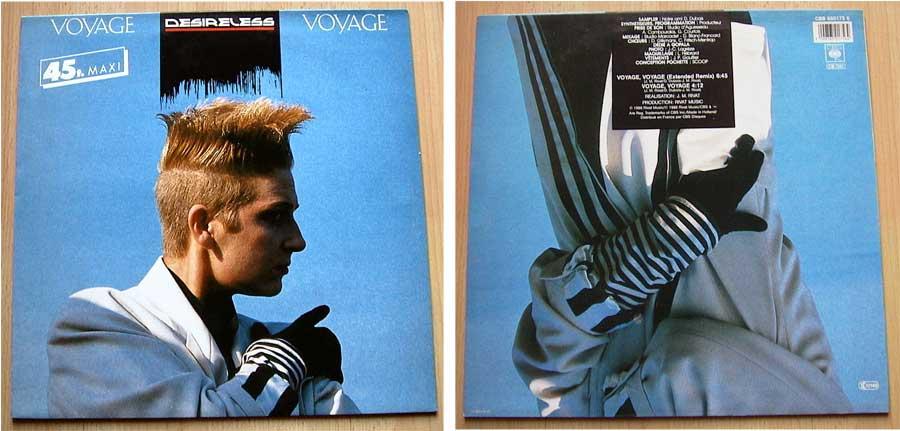 Desireless - Voyage Voyage - Vinyl Maxi-Single