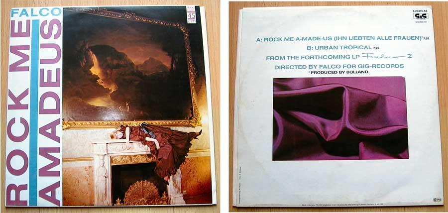 Falco - Rock Me Amadeus - Vinyl Maxi-Single 1985