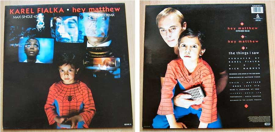 Karel Fialka - Hey Matthew - Vinyl Maxi-Single 1987