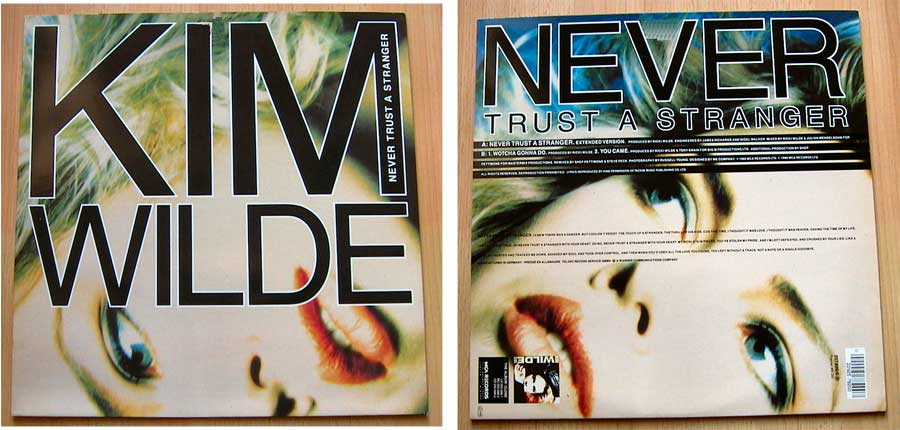 Kim Wilde - Never Trust A Stranger - Vinyl Maxi-Single von 1988