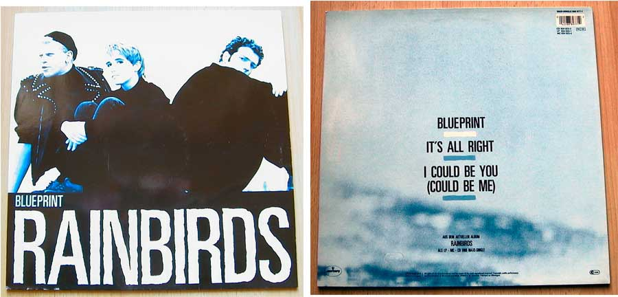 Rainbirds - Blueprint - Maxi-Single Musikfans 1987