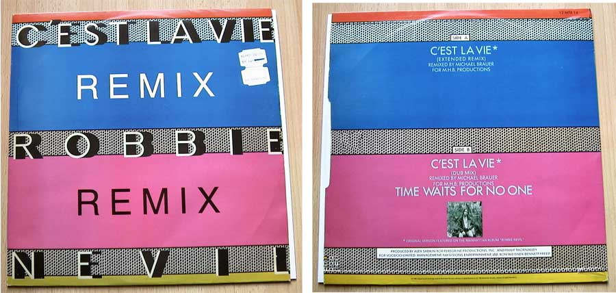 Robbie Nevil - C'est La Vie - Vinyl Maxi-Single 1986