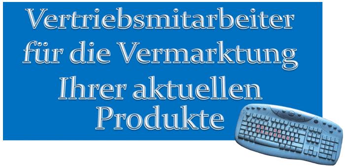 Vermarktung Vertriebsmitarbeiter Banner