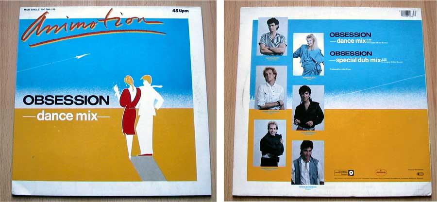 Maxisingles Animotion - Obsession - Vinyl 1984