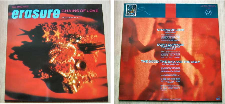 Erasure - Chains Of Love - Vinyl Maxi-Single von 1988