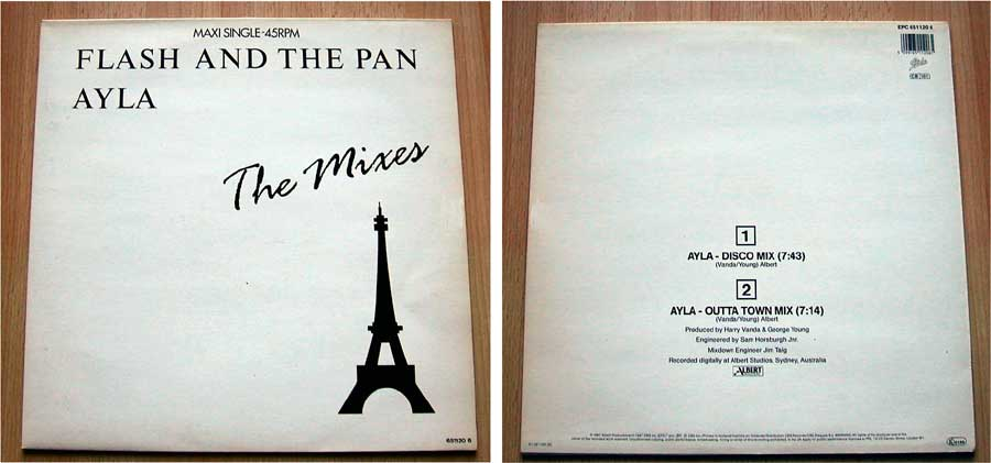 Flash And The Pan - The Mixes - Vinyl Maxi-Single von 1987