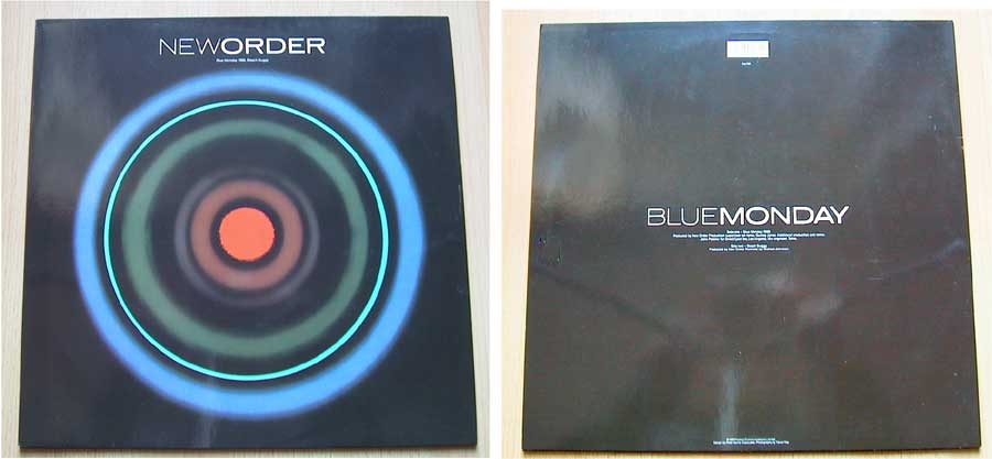 New Order - Blue Monday - Vinyl MaxiSingle von 1988