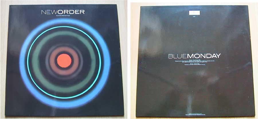 New Order - Blue Monday - Vinyl MaxiSingle 1988