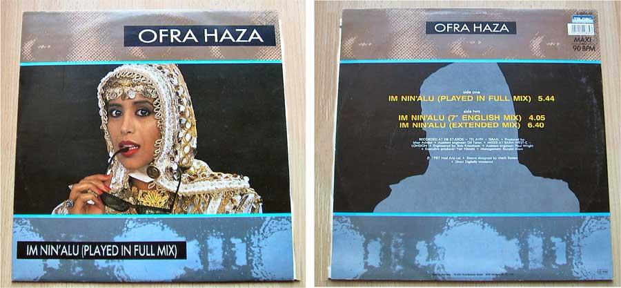 Ofra Haza - Im Nin' Alu - Vinyl Maxisingles 1987