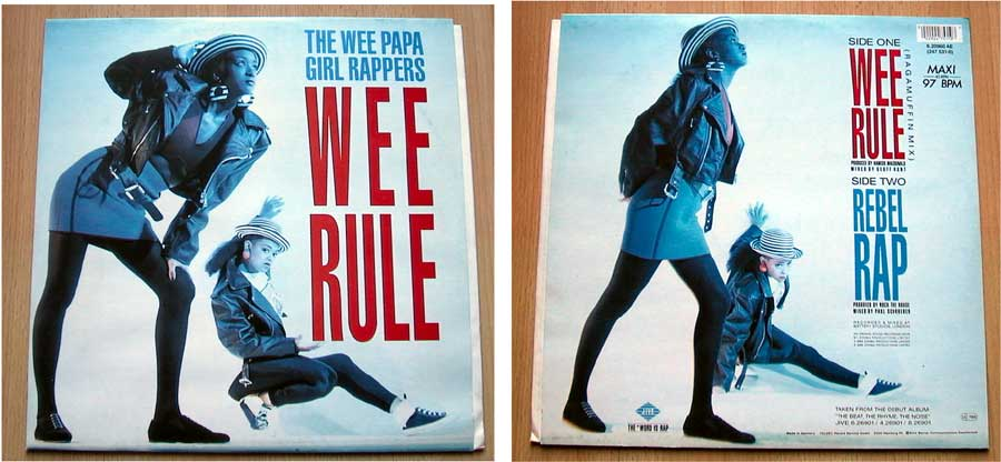 The Wee Papa Girl Rappers - Wee Rule Maxisingles