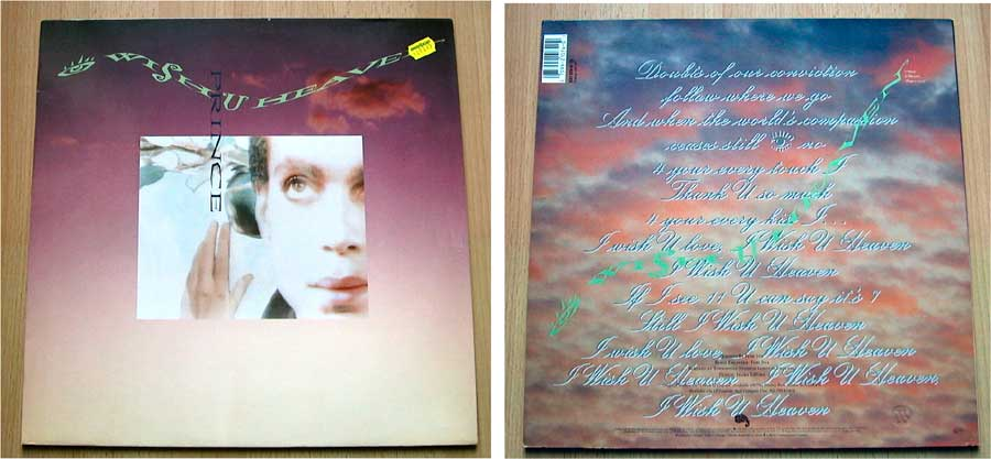 Prince - I Wish U Heaven - Vinyl Maxi-Single von 1988