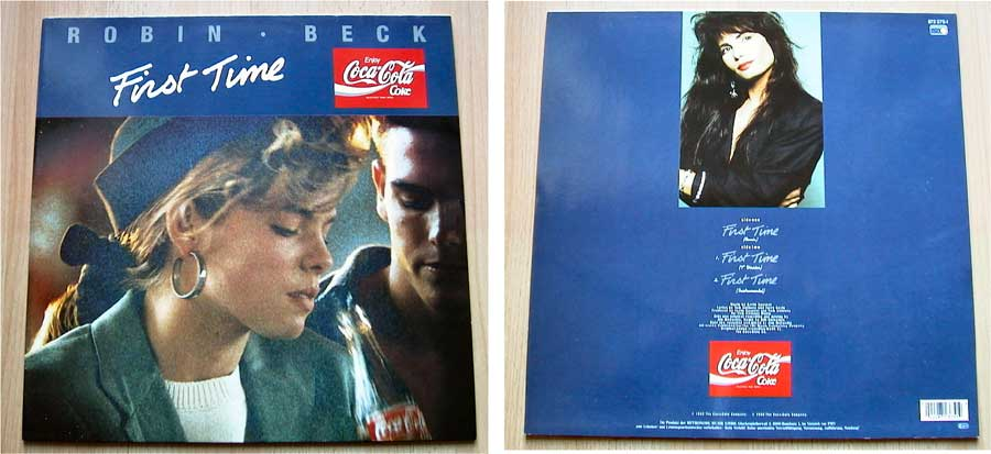 Robin Beck - First Time - Vinyl Maxisingles 1988