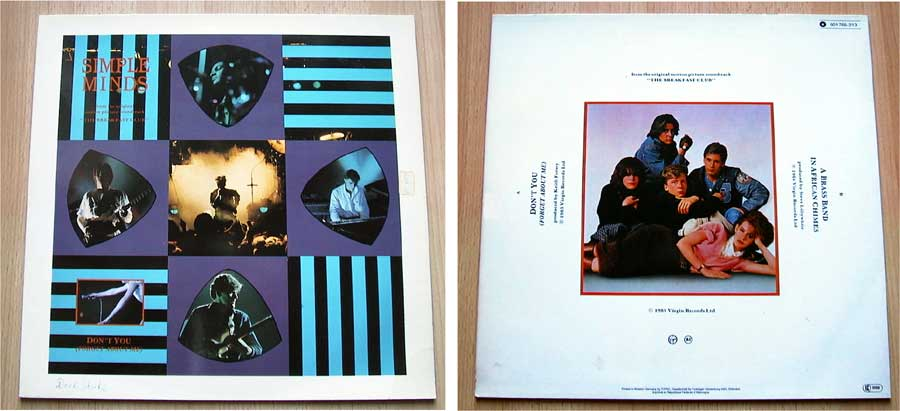 Simple Minds - Don't You (Forget About Me) - Vinyl Maxi-Single von 1985